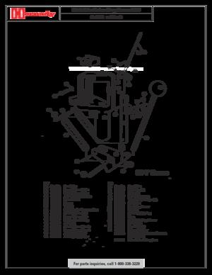 Hornady Metallic Reloading Press 00-7 Parts Listing Manual