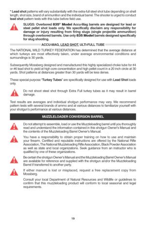 Super Mossberg 500 835 590 Pump Action Shotgun Instructions Manual Wiring Cloud Mangdienstapotheekhoekschewaardnl
