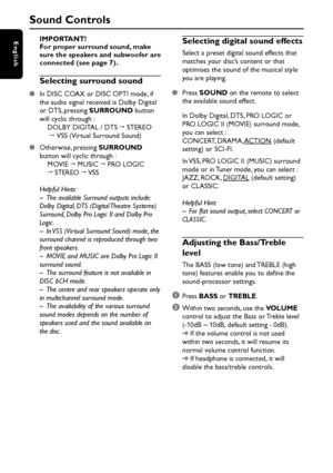 Philips Lx600 User Manual