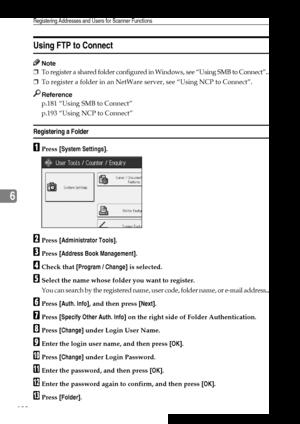 Ricoh Aficio MP 7500 User Manual
