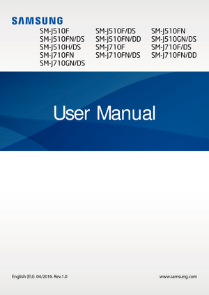 Samsung J5 Owners Manual