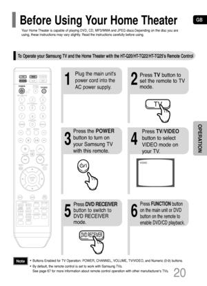 Samsung Ht Tq25 Instruction Manual