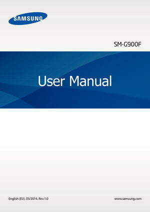 Samsung Galaxy S5 User Manual