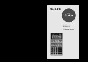 sharp el1197piii manual
