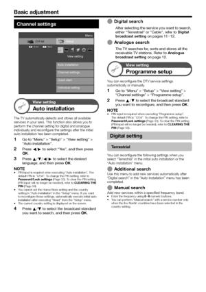 Sharp Lc 40le810 Operation Manual