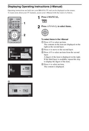 Sony Kdl 40cx523 Operating Instructions