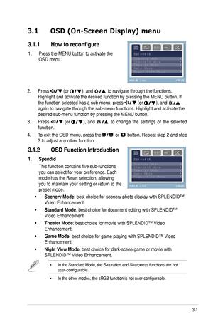 Asus Ve247t User Guide