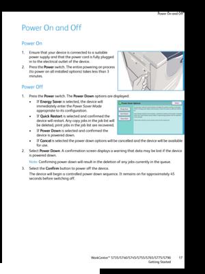 Xerox WorkCentre 5735 User Manual