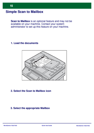 Xerox WorkCentre Pro 7232 User Manual