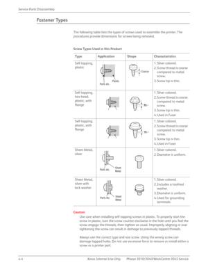 Xerox WorkCentre 3045 Service Manual