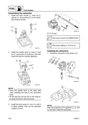 Yamaha F2 5 Service Manual