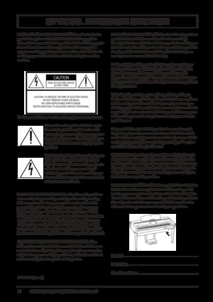 Yamaha Clavinova Instruction Manuals