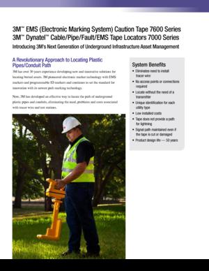 3m 7600 Ems Caution Tape Brochure